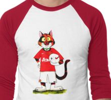 SkyeCatz: Manchester United F.C Cindy! Men's Baseball ¾ T-Shirt