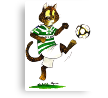 SkyeCatz: Shamrock Rovers Cindy! Canvas Print
