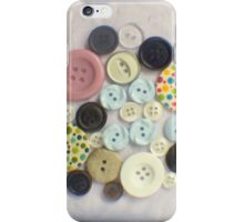 Buttons - ttv photograph iPhone Case/Skin