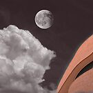 Sandstone Against the Sky - National Museum of the American Indian by Wayne King