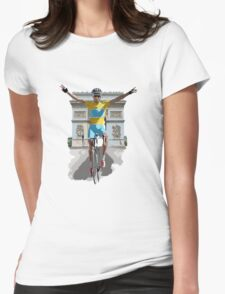 Triomphe Womens Fitted T-Shirt