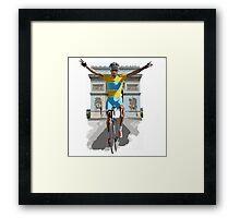 Triomphe Framed Print