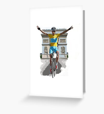 Triomphe Greeting Card