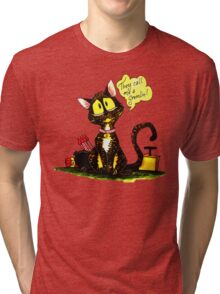 SkyeCatz: Cindy the Gremlin Tri-blend T-Shirt