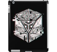 Glitch-Cubangle iPad Case/Skin