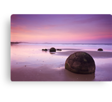 Moeraki Sunset Canvas Print