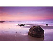 Moeraki Sunset Photographic Print