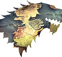 Game of Thrones Dire Wolf - Map by goofyjeremy