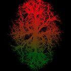 tree branch vessels dark psychedelic trance music rishama by RISHAMA