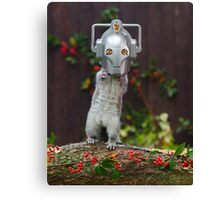 Cyber Squirrel! Canvas Print
