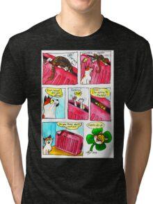 SkyesCatz: Irish Trip Tri-blend T-Shirt
