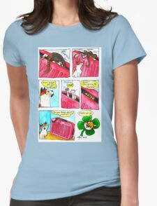SkyesCatz: Irish Trip Womens Fitted T-Shirt