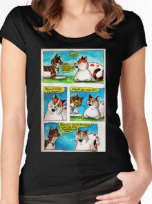 SkyeCatz: #1 Women's Fitted Scoop T-Shirt