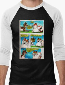 SkyeCatz: #1 Men's Baseball ¾ T-Shirt