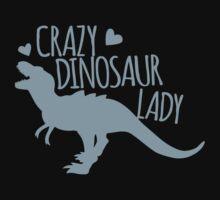 Crazy Dinosaur Lady (Tyrannosaurus)  by jazzydevil