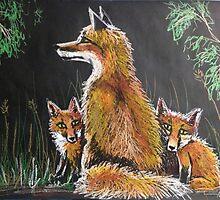 Mother Fox by SkyeWieland