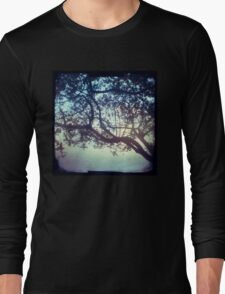 Sunset trees ttv photograph Long Sleeve T-Shirt