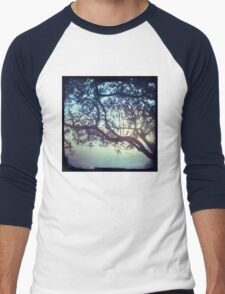 Sunset trees ttv photograph Men's Baseball ¾ T-Shirt