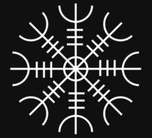 Ægishjálmur - Helm of Awe Symbol by evanmayer