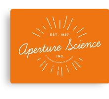 Aperture Science Canvas Print
