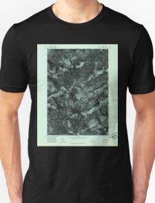Maine USGS Historical Map Quill Hill 807080 1977 24000 Unisex T-Shirt