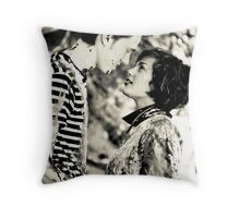 don't be afraid to fly Throw Pillow