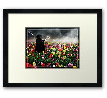The Send Off Framed Print