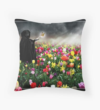 The Send Off Throw Pillow