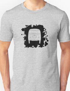 VW Barndoor Kombi Rear Full Unisex T-Shirt