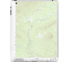 Maine USGS Historical Map Quill Hill 20110909 TM iPad Case/Skin