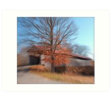 Photography at the speed of light Art Print