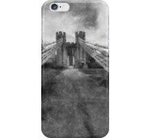 Conwy Suspension Bridge iPhone Case/Skin