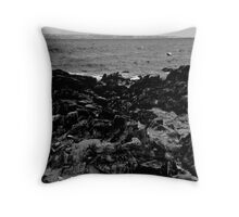 Rocky Cove Throw Pillow
