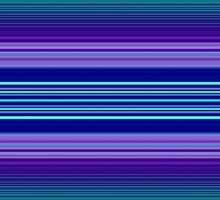 Blue and Purple Stripe Design by Jacqueline Turton