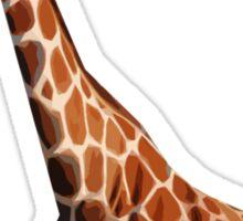 Giraffa camelopardalis BLUE Sticker