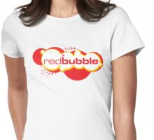 Red Bubble Logo Womens Fitted T-Shirt