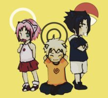 Baby Team 7 Naruto Kids Clothes