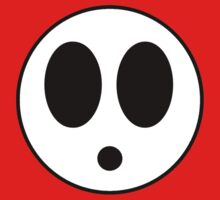 Mask of Shy Guy by evanmayer