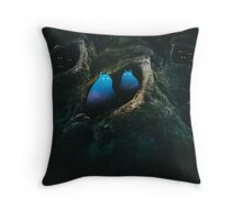 In the Forest of the Night Throw Pillow