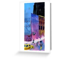 NY people Greeting Card