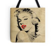 Marilyn Monroe 3 Colour (Aged) Tote Bag