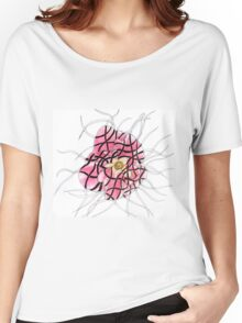 Styled Flower Women's Relaxed Fit T-Shirt