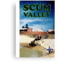 Scum Valley Canvas Print