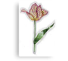 Tangle Tulips Canvas Print