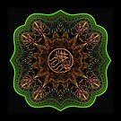 Islamic Art - Modern Islamic Art - Fraktaligrafi #06 by Adi Nugroho