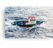 Pilot Boat in Curacao Canvas Print