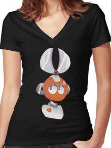Cutman Women's Fitted V-Neck T-Shirt