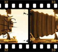 Filmstrip Camera Sticker
