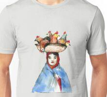 Chicken Head Unisex T-Shirt