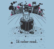 I'd Rather Read T-Shirt